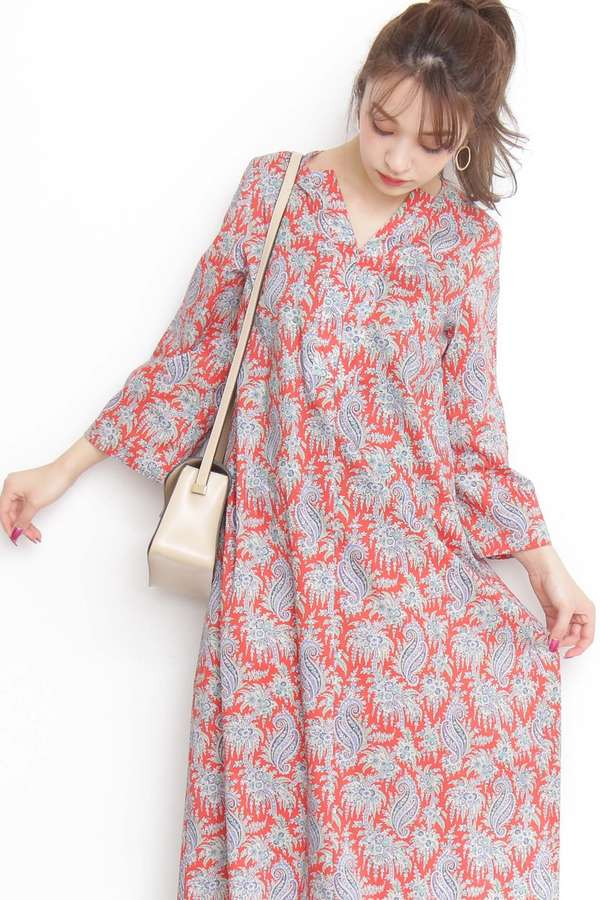 《Liberty Print》Palm Paisley ワンピース