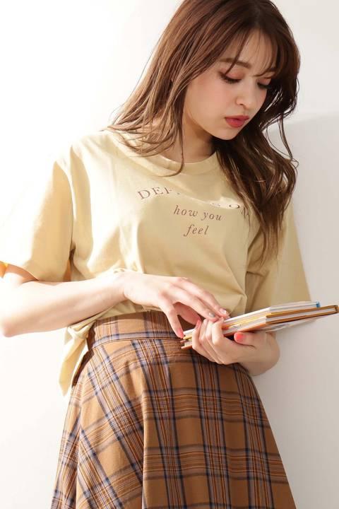 ラウンドロゴショートTシャツ