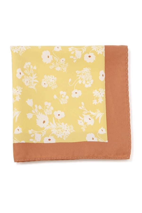 パッチワーク配色スカーフ