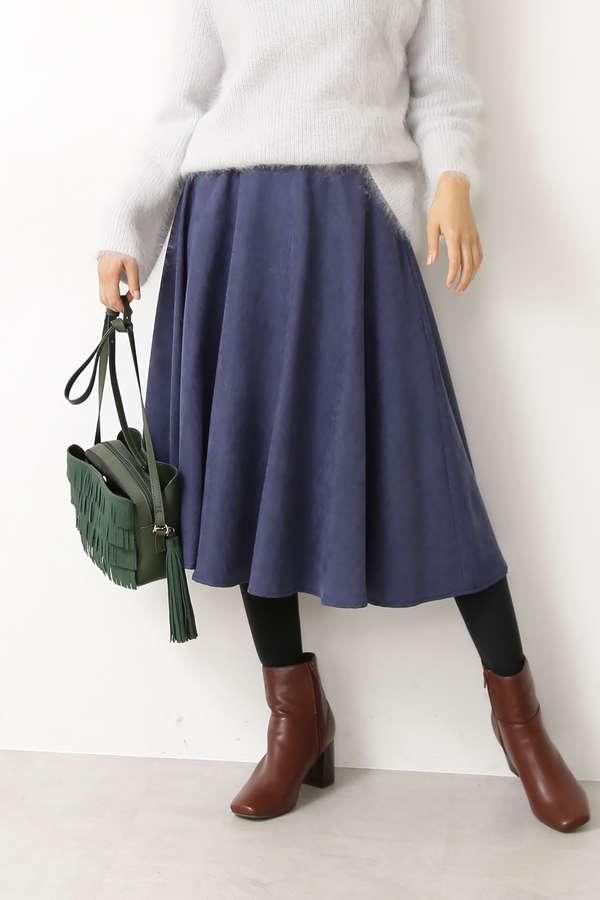 ピーチフレアスカート