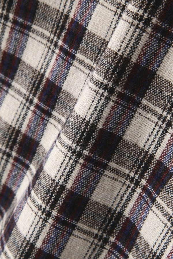 ジュネスチェックタイトスカート