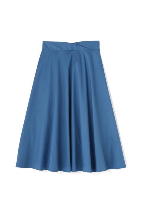 オーバーラップウエストスカート