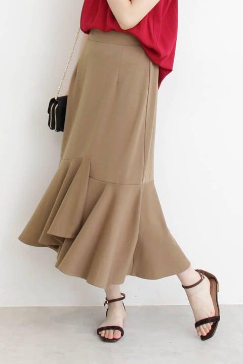 イレギュラーフレアポンチスカート