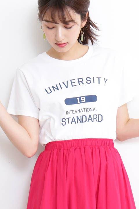 【先行予約6月下旬-7月上旬入荷予定】アソートコットンロゴTシャツ
