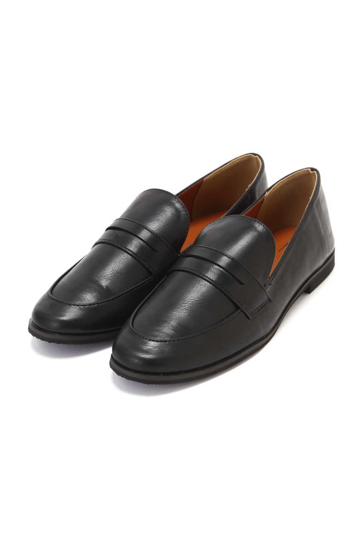 【公式/エヌ ナチュラルビューティーベーシック】コインローファー/女性/靴・パンプス/ブラック/サイズ:S/(甲皮の使用材)合成皮革(底材の種類)合成底