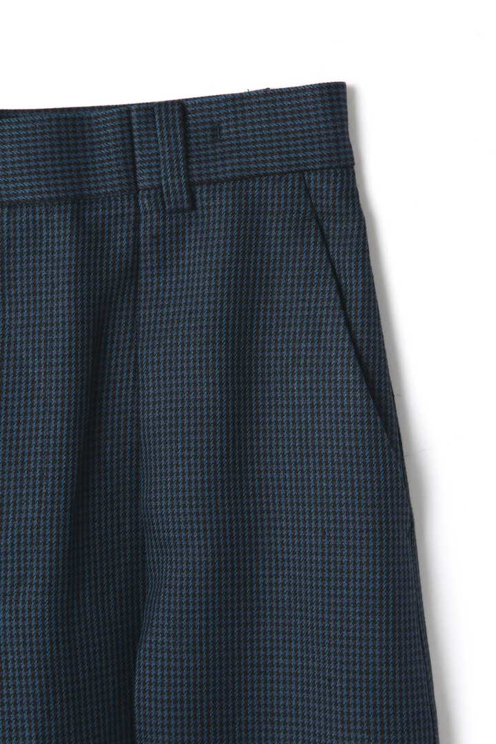 ATON / LINEN HOUND'S TOOTH WIDE PANTS4