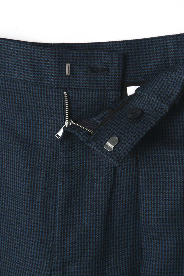 ATON / LINEN HOUND'S TOOTH WIDE PANTS7
