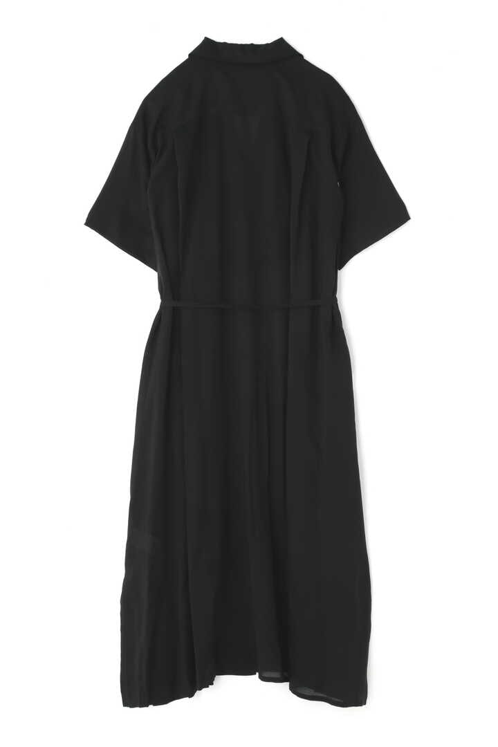 BLURHMS / OPEN COLLAR SHIRT DRESS2