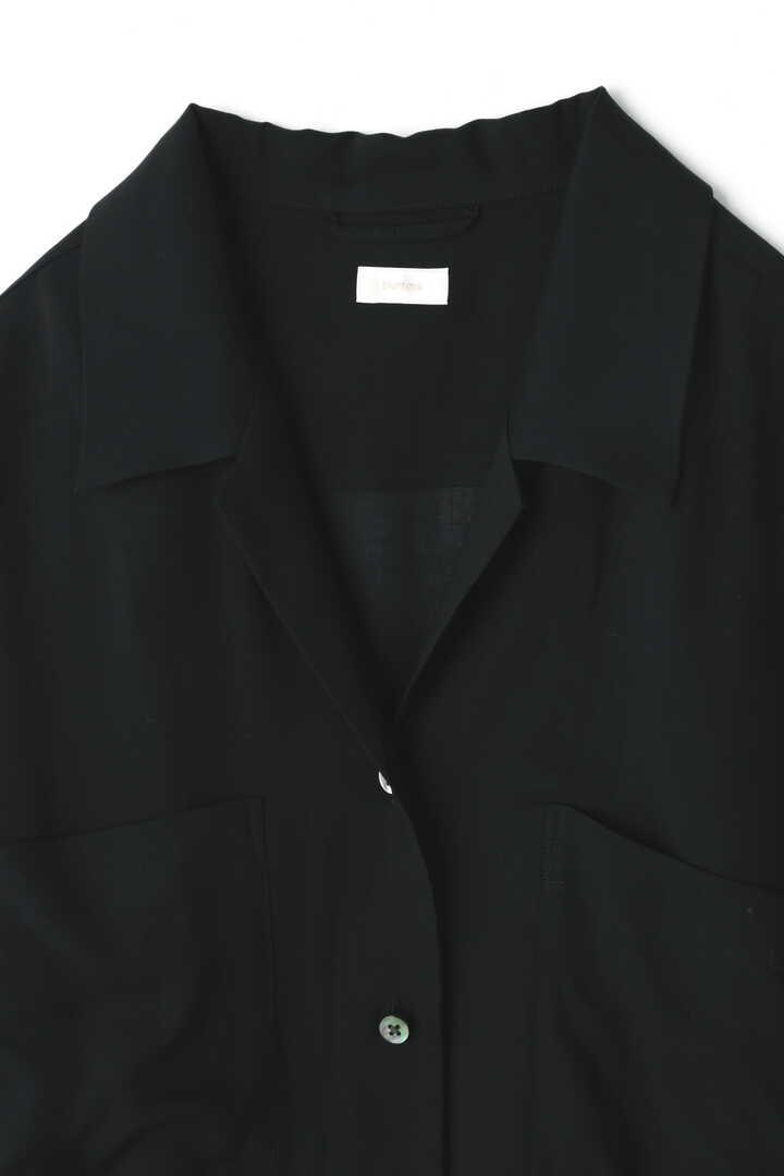 BLURHMS / OPEN COLLAR SHIRT DRESS3