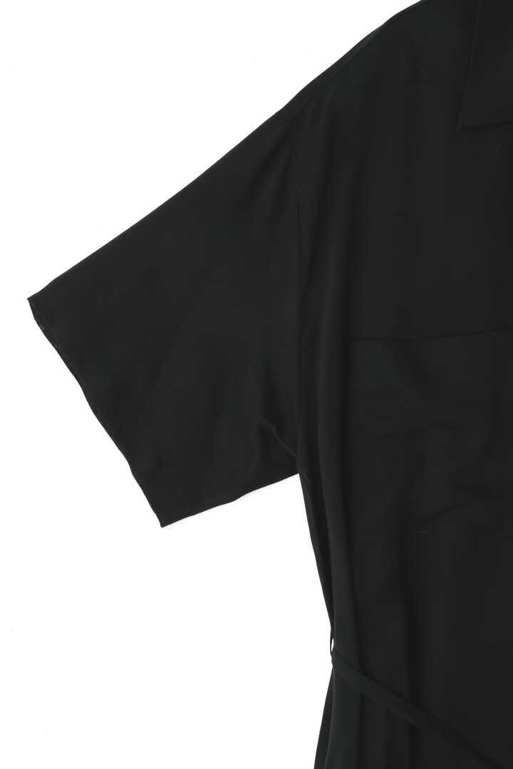BLURHMS / OPEN COLLAR SHIRT DRESS4