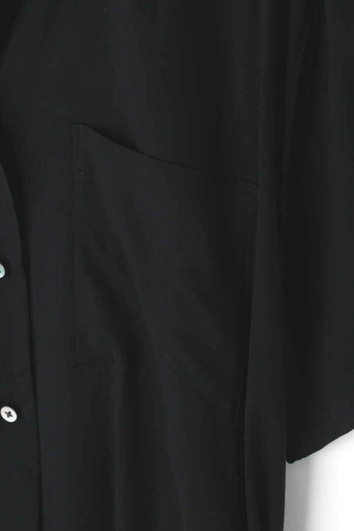 BLURHMS / OPEN COLLAR SHIRT DRESS5