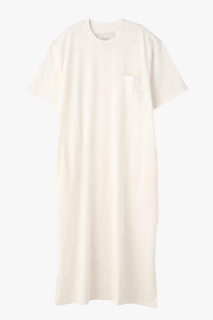 STUDIO NICHOLSON / MERCERIZED COTTON SHORT SLEEVE DRESS1