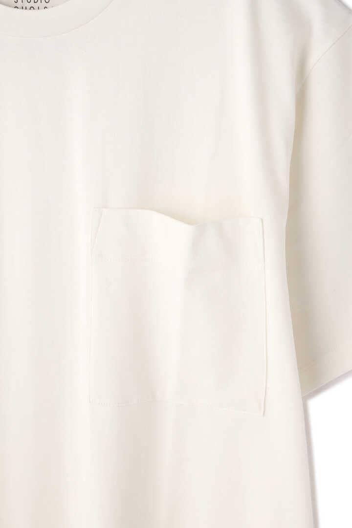 STUDIO NICHOLSON / MERCERIZED COTTON SHORT SLEEVE DRESS4