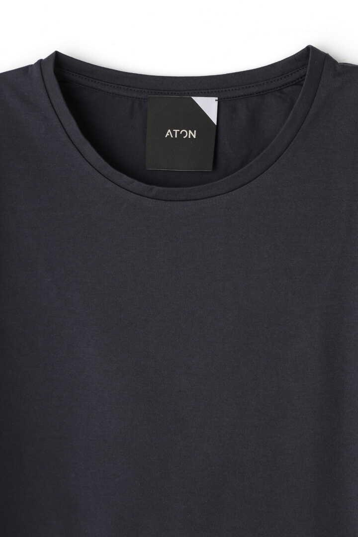 ATON / SUVIN60/2 ROUND HEM T-SHIRT7