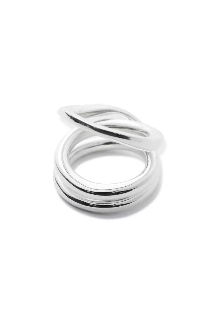 BLANC IRIS / volute(ring)2