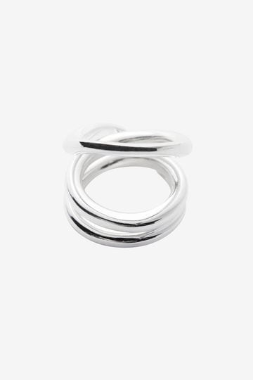 BLANC IRIS / volute(ring)_160