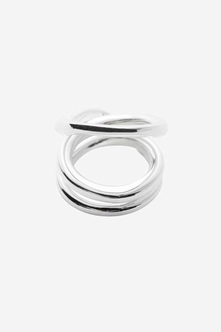 BLANC IRIS / volute(ring)1