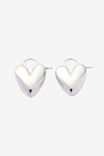 【店舗限定】R.ALAGAN / TIN PUFFY HEART HOOPS_160
