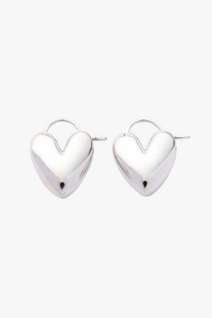 【店舗限定】R.ALAGAN / TIN PUFFY HEART HOOPS1