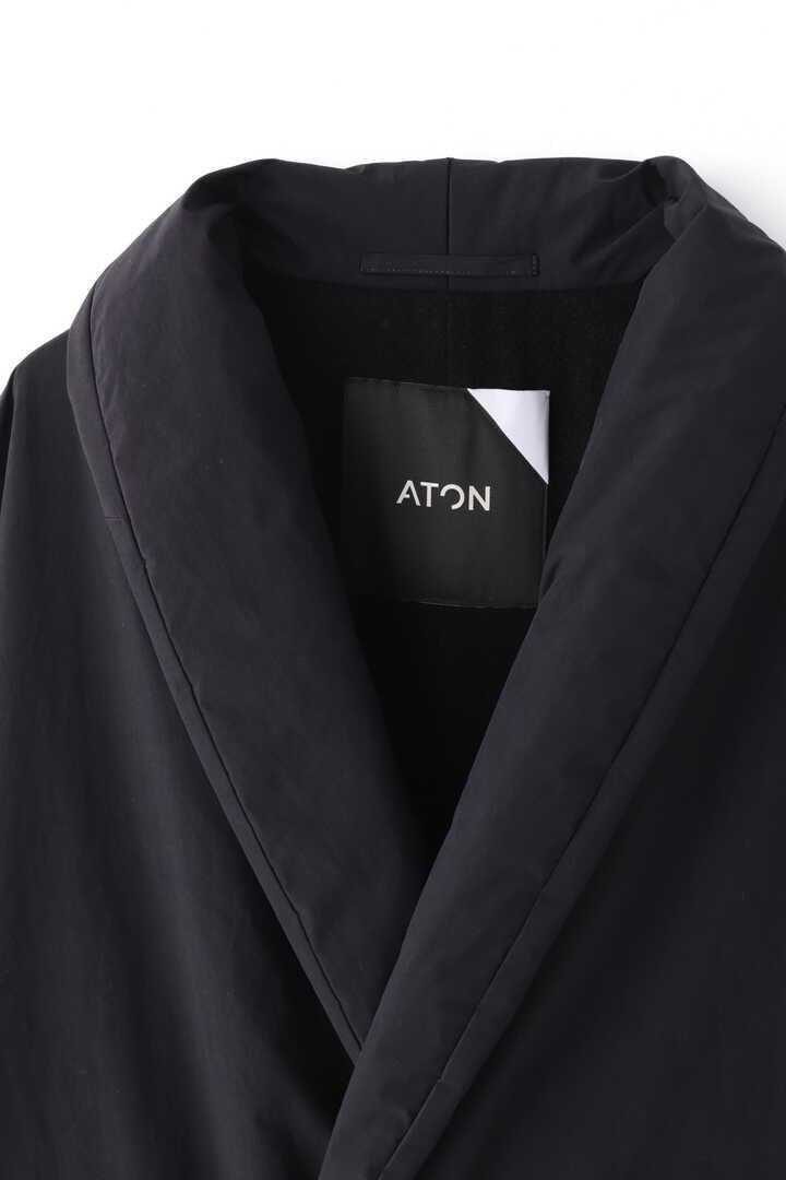 ATON / ASAKO NYLON GAWN COAT3