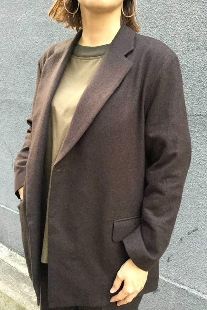 BLURHMS / C/W VIYELLA DOUBLE BREASTED BELTED JACKET15