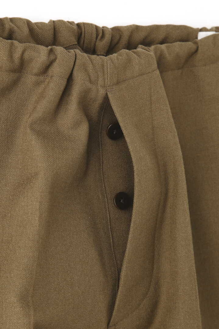 BLURHMS / WOOL SURGE SIDE STRING SLACKS7