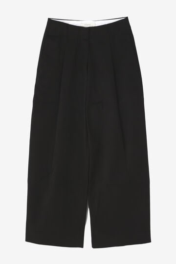 STUDIO NICHOLSON / PEACHED COTTON TWILL CLASSIC VOLUME PLEAT PANTS_010