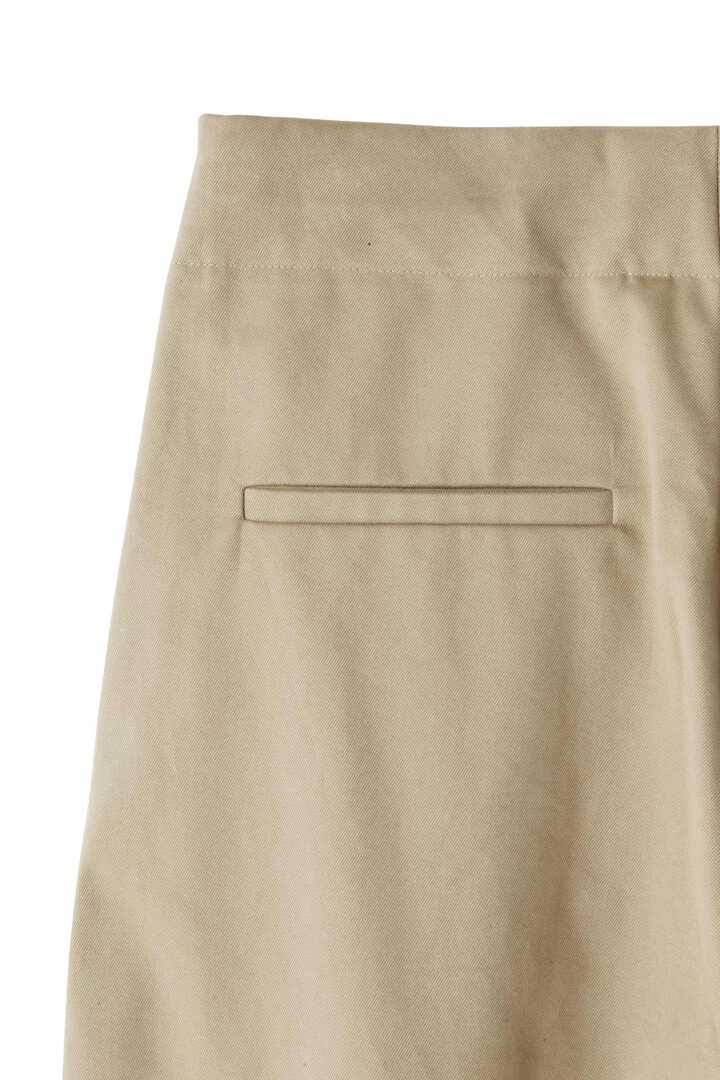 STUDIO NICHOLSON / PEACHED COTTON TWILL CLASSIC VOLUME PLEAT PANTS6