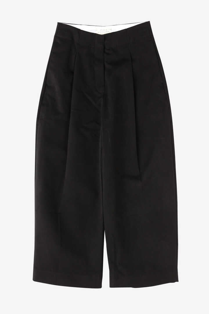 STUDIO NICHOLSON / PEACHED COTTON TWILL CLASSIC VOLUME PLEAT PANTS9