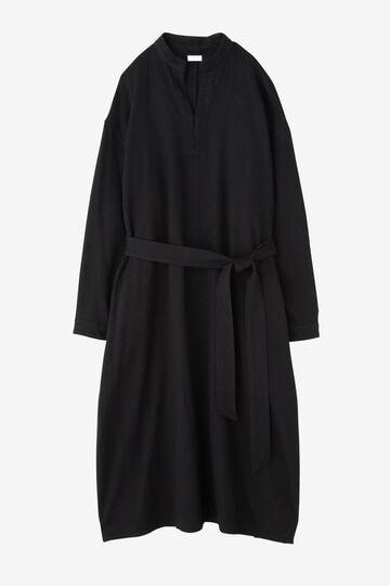 BLURHMS / WASHED DENIM PULLOVER DRESS L/S_010