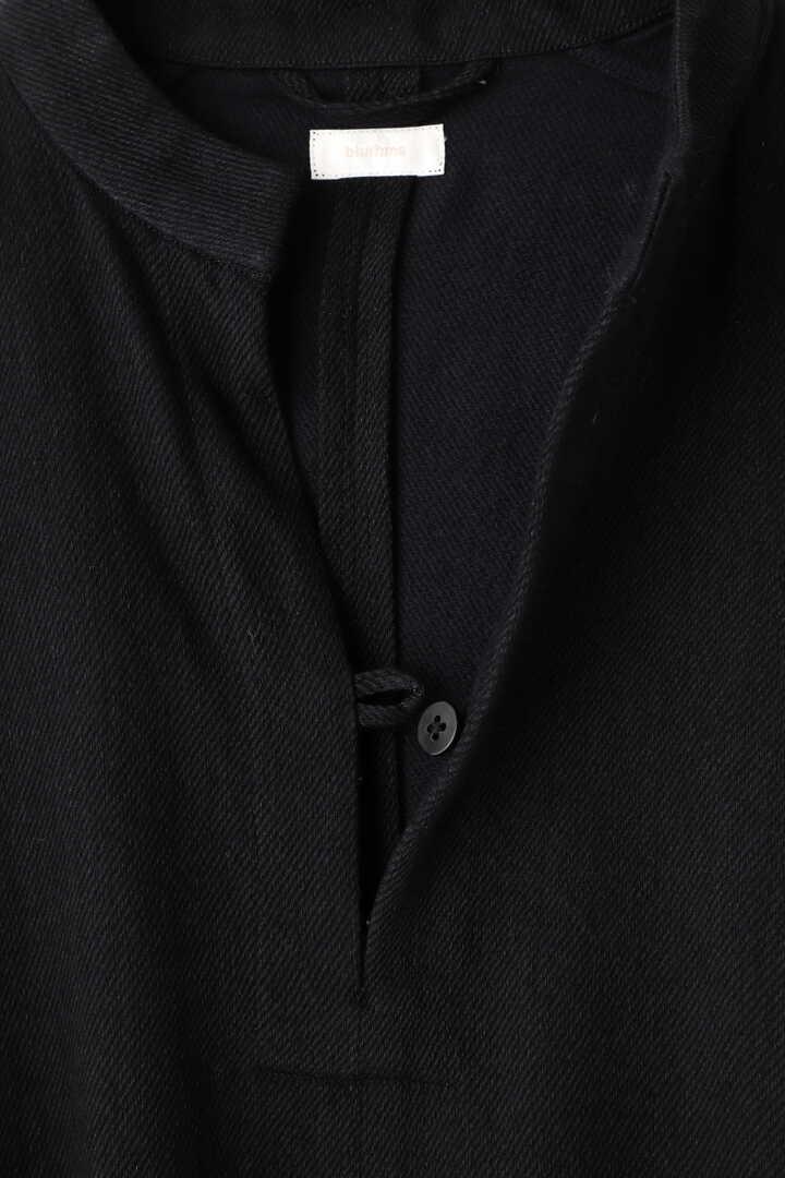 BLURHMS / WASHED DENIM PULLOVER DRESS L/S4