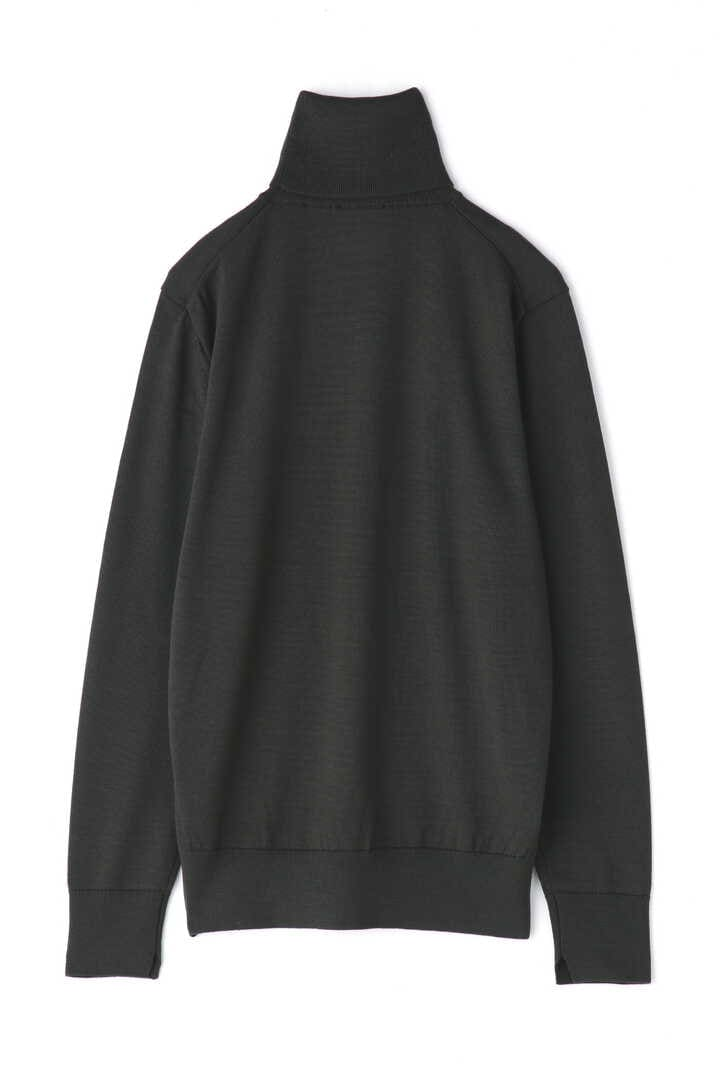 ATON / SLOW WOOL TURTLE NECK PULLOVER2