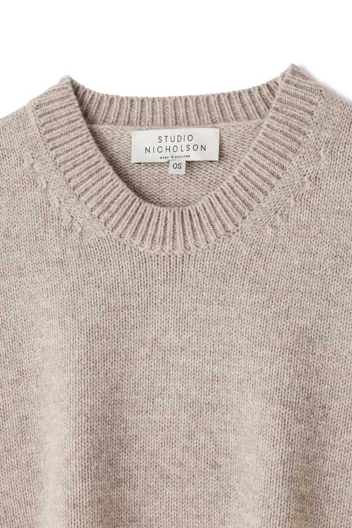 STUDIO NICHOLSON / ENGLISH LAMBSWOOL THE BIG KNIT3