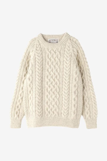 INVERALLAN / CREWNECK IN NATURALLY NEUTRAL_040