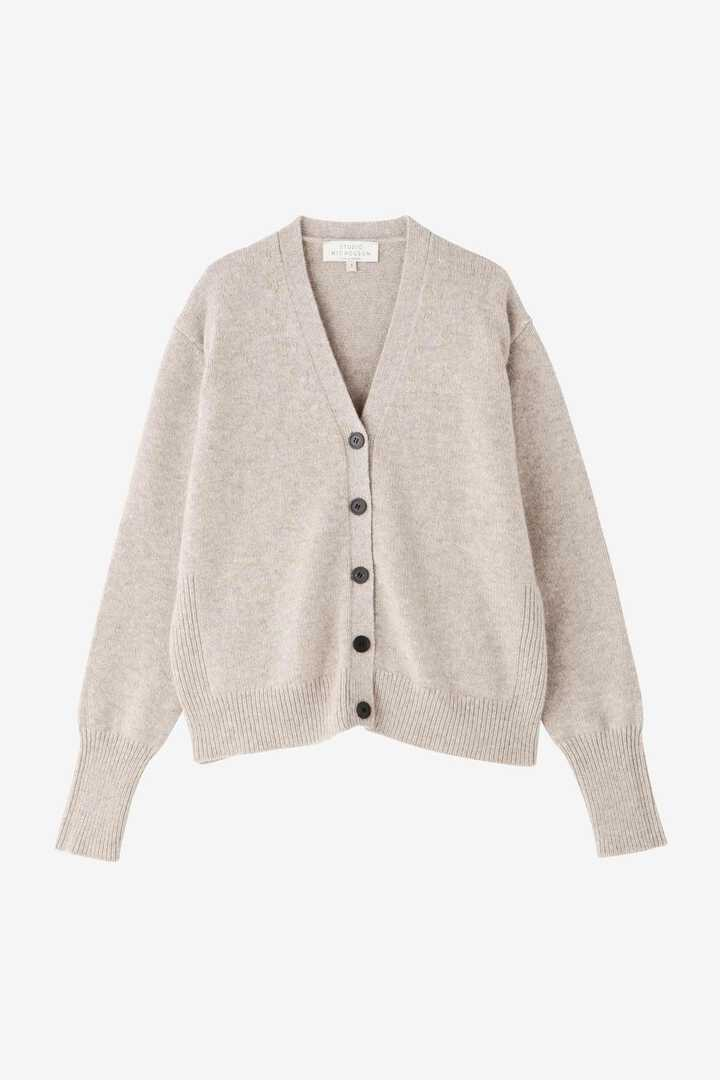 STUDIO NICHOLSON / ENGLISH LAMBSWOOL RIB DETAIL CARDIGAN7