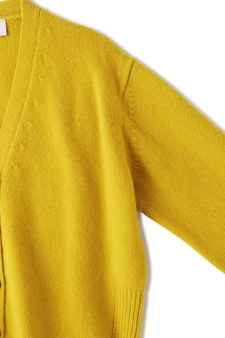STUDIO NICHOLSON / ENGLISH LAMBSWOOL RIB DETAIL CARDIGAN4