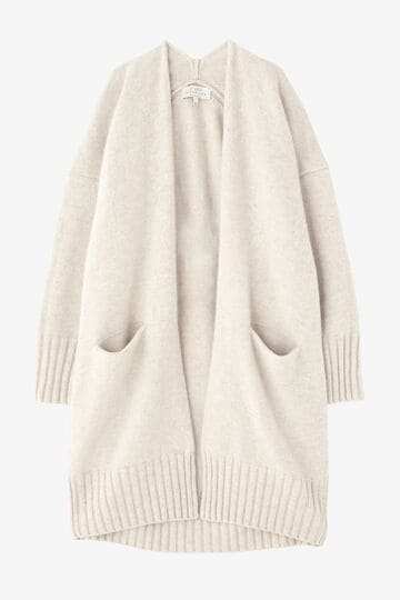 STUDIO NICHOLSON / ENGLISH LAMBSWOOL SQUARED OVERSIZED CARDIGAN_030