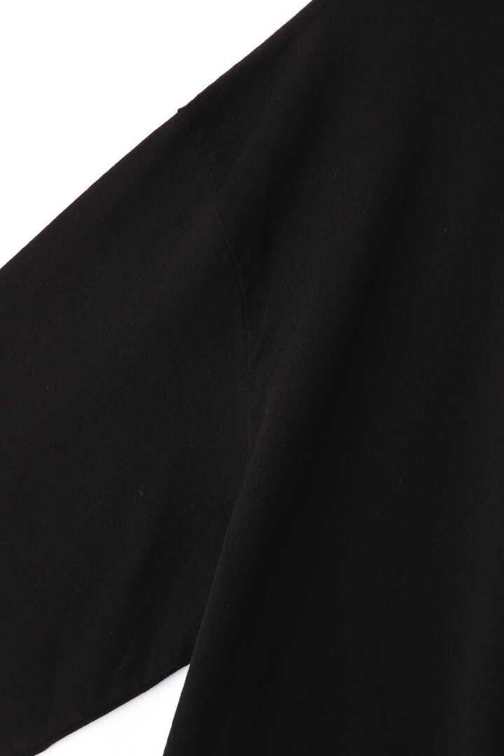 BLURHMS / SILK COTTON JERSEY TURTLE-NECK L/S4
