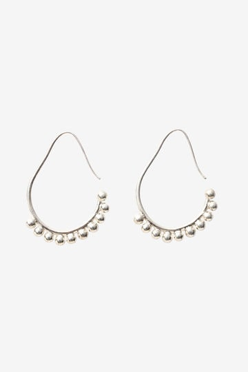 【店舗限定】R.ALAGAN / BALL HOOP EARRING