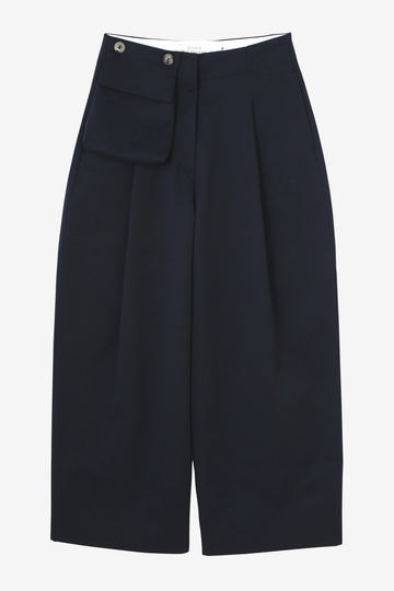 STUDIO NICHOLSON / LOOSE LEG PANTS WITH POCKET
