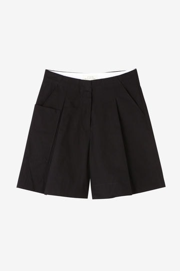 STUDIO NICHOLSON / POWDER COTTON- VOLUME SHORTS