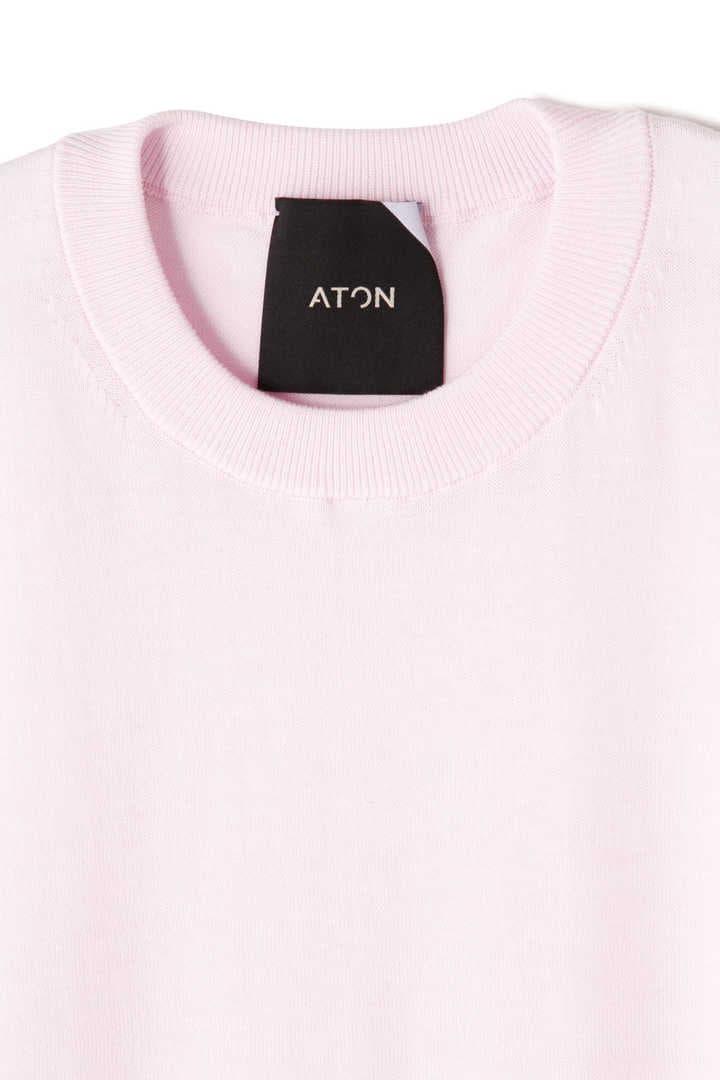 ATON / CREW NECK LONG DRESS5