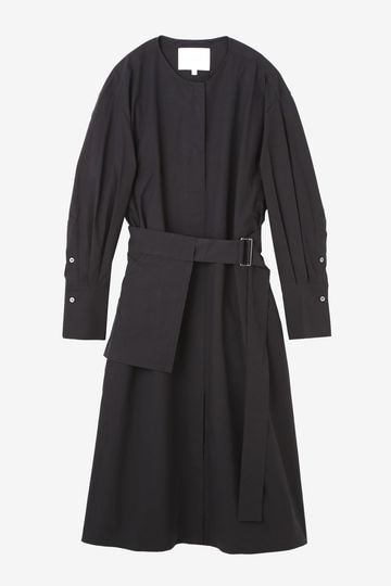 STUDIO NICHOLSON / POWDER COTTON-BELTED SH