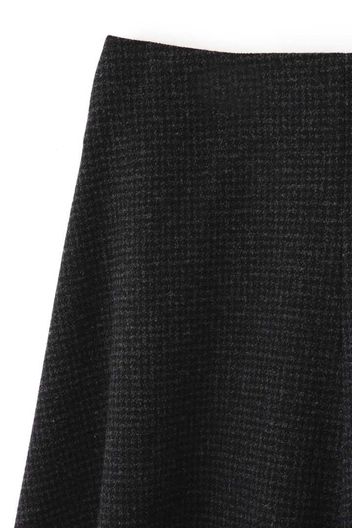 ATON / SECOND SKIN WOOL ベルトラップスカート3