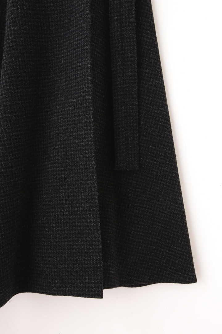 ATON / SECOND SKIN WOOL ベルトラップスカート5