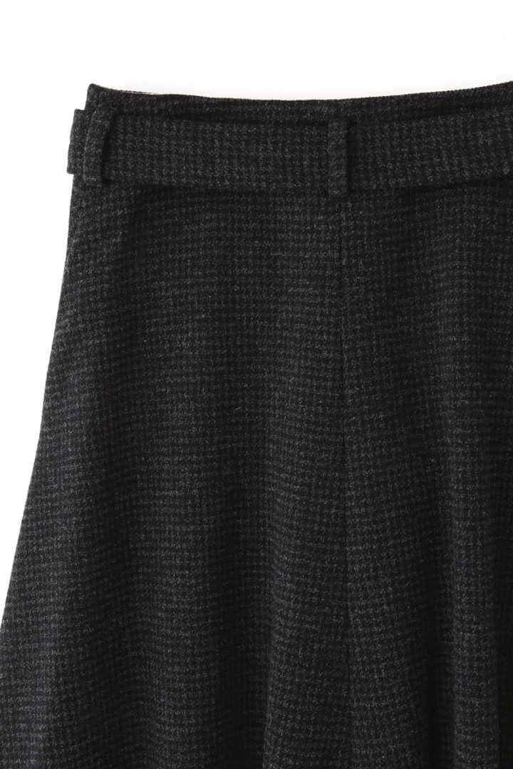 ATON / SECOND SKIN WOOL ベルトラップスカート6