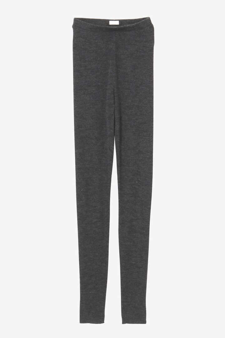BLURHMS / SHRINK WOOL RIB LEGGIN1