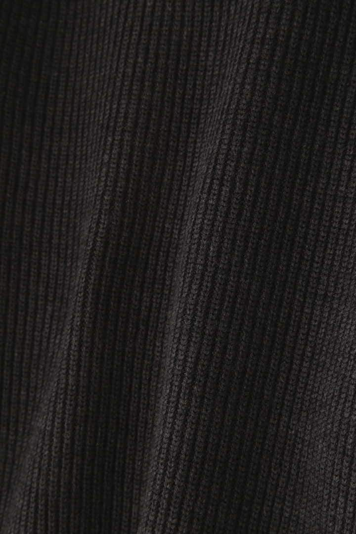 BLURHMS / SILK WOOL RIB KNIT P/O2