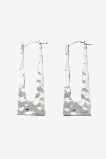 R.ALAGAN / SQUARE HOOP EARRING_160