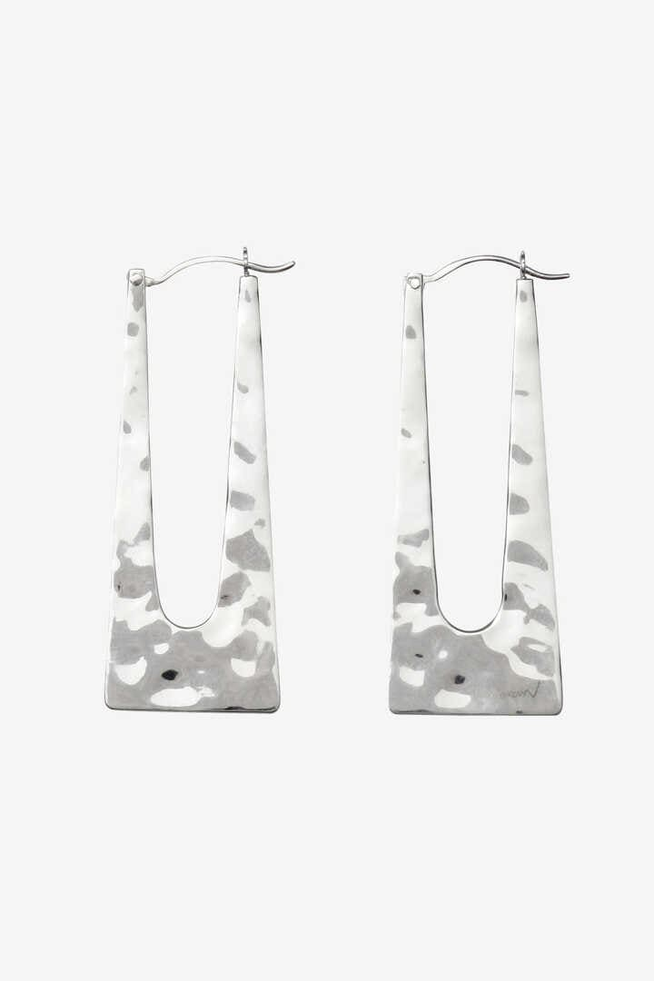 R.ALAGAN / SQUARE HOOP EARRING1